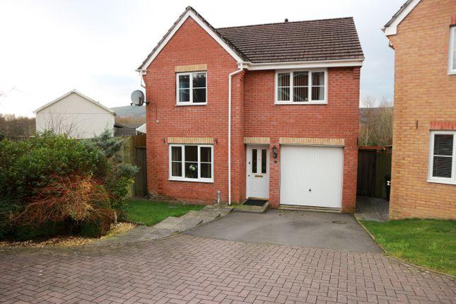 Thumbnail Detached house for sale in Hawthorn Drive, Dan-Y-Graig, Twynyrodyn, Merthyr Tydfil