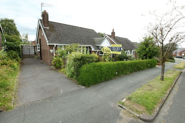 Thumbnail Detached bungalow for sale in Carriage Drive, Biddulph, Stoke-On-Trent