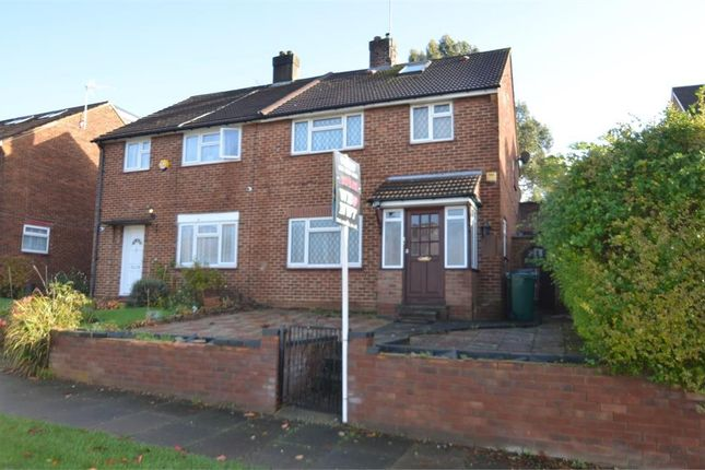 Thumbnail Semi-detached house to rent in Bedford Road, Mill Hill