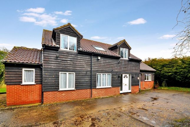 Thumbnail Detached house for sale in Park Farm Lane, Nuthampstead, Royston