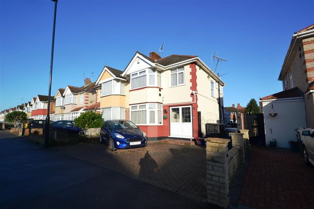 Thumbnail Semi-detached house for sale in Carlton Avenue, Feltham