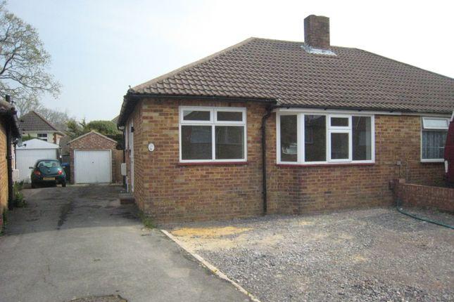 Thumbnail Semi-detached bungalow to rent in Ferneham Road, Fareham