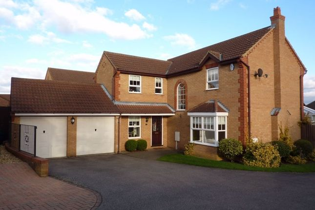 Thumbnail Detached house for sale in Wisteria Way, Abington Vale, Northampton