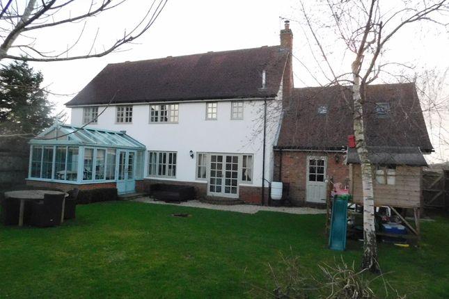 Thumbnail Detached house for sale in Brettenham Road, Buxhall, Stowmarket