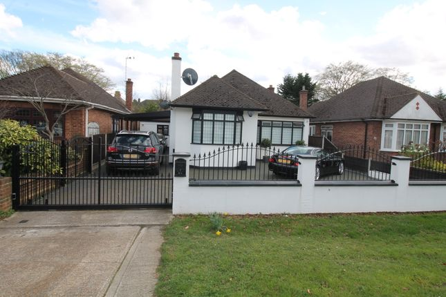 Thumbnail Detached bungalow for sale in Brook Road, Gidea Park, Essex