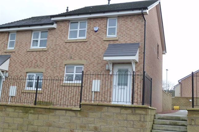 Thumbnail Semi-detached house for sale in Heggie Place, Bo'ness