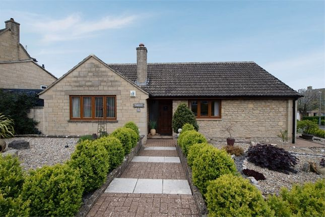 Thumbnail Detached bungalow for sale in Pentylands Close, Highworth, Swindon, Wiltshire