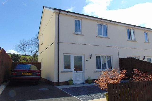 Thumbnail Semi-detached house for sale in Ffynnon Y Waun, Ponthenry, Llanelli, Carmarthenshire.