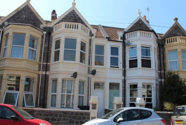 Thumbnail Flat to rent in Walliscote Road South, Weston-Super-Mare, North Somerset