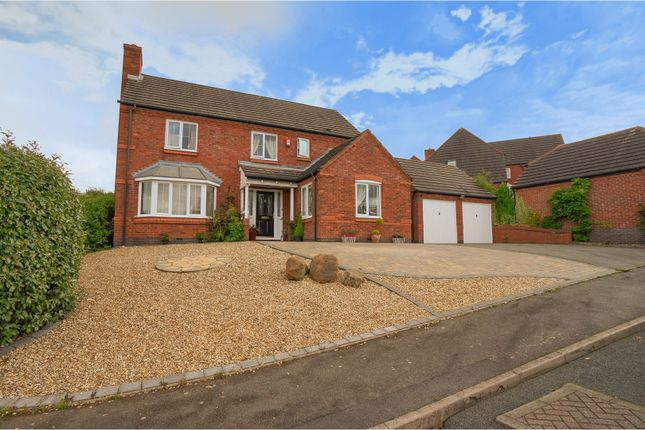 Thumbnail Detached house for sale in Darwin Close, Brizlincote Valley