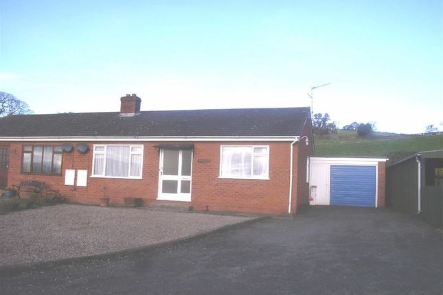 Thumbnail Semi-detached bungalow to rent in 6, Oakfields, Llansantffraid, Powys