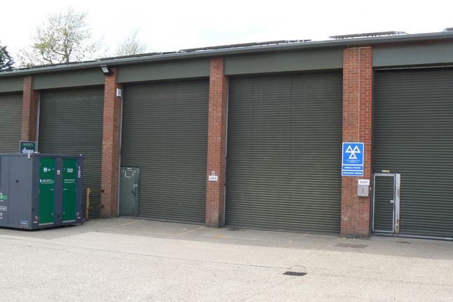Thumbnail Warehouse to let in Unit E, Station Works, Lyndhurst Road, South Ascot, Berkshire