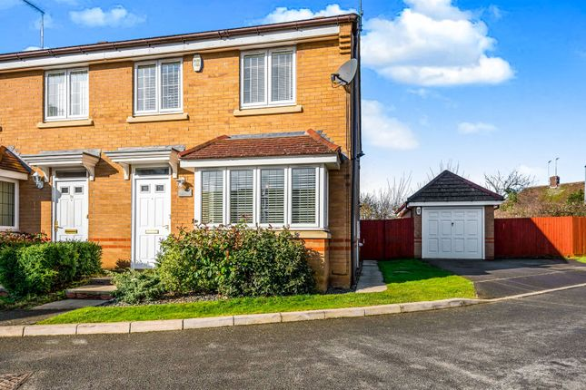 Thumbnail Semi-detached house for sale in Breezehill, Wootton, Northampton