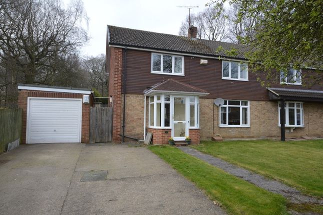 Thumbnail Semi-detached house for sale in New Hall Way, Flockton, Wakefield