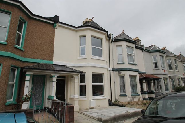 Thumbnail Property to rent in St Georges Terrace, Stoke, Plymouth