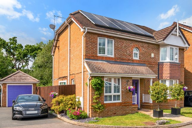 Thumbnail Detached house for sale in Westlees Close, North Holmwood, Dorking
