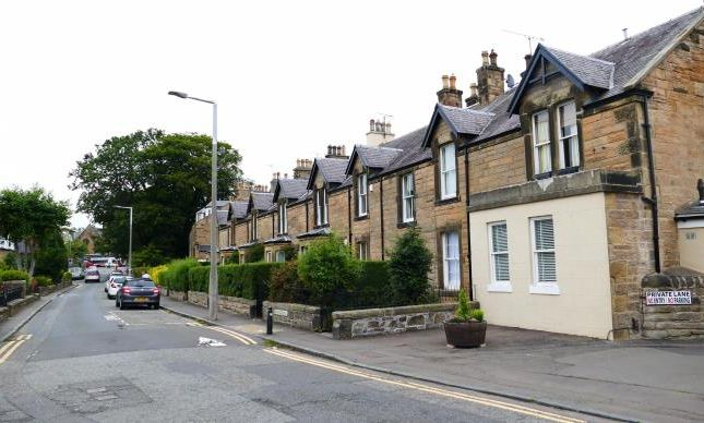Thumbnail Terraced house to rent in Manse Road, Corstorphine, Edinburgh
