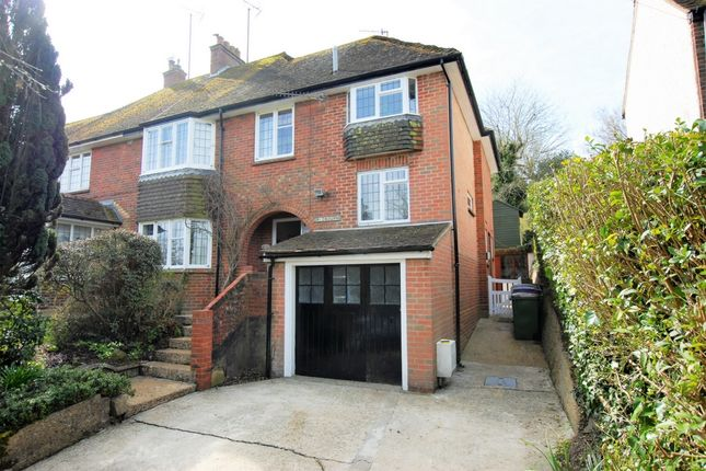 Thumbnail Semi-detached house for sale in London Road, Hythe