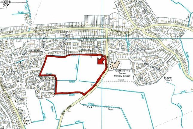 Thumbnail Land for sale in Toot Lane, Boston, Lincolnshire