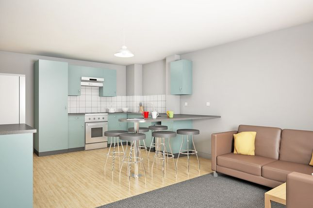 Thumbnail Flat to rent in Portland Green Student Village, Ouseburn Valley, Newcastle Upon Tyne