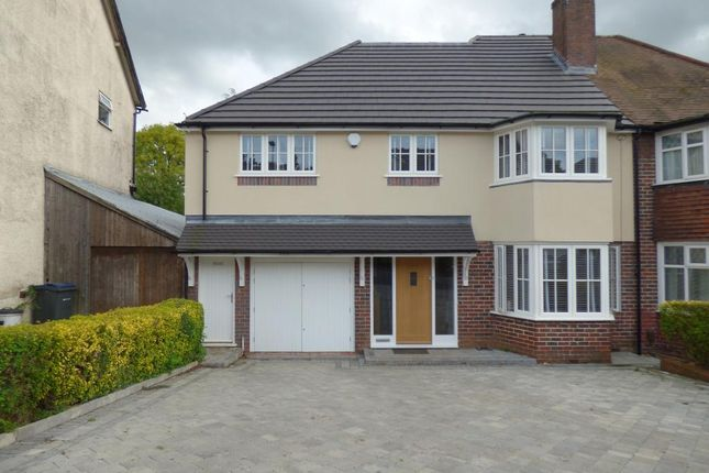 Thumbnail Semi-detached house for sale in Woodland Road, Northfield, Birmingham
