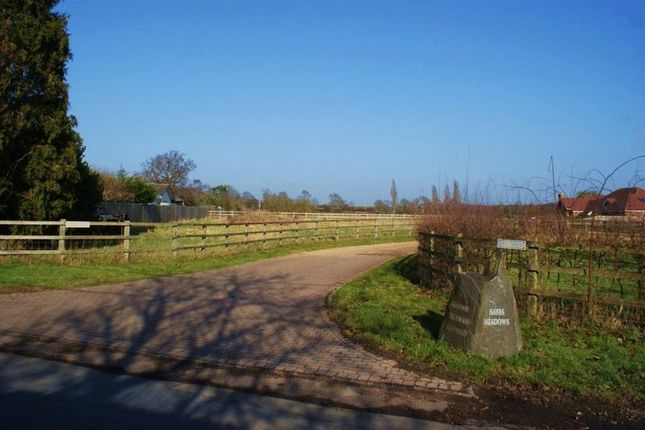 Thumbnail Land for sale in Milley Road, Waltham St. Lawrence, Reading