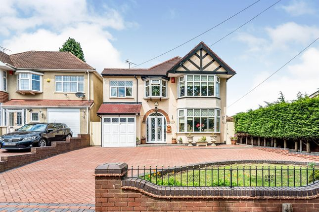 Thumbnail Detached house for sale in Banners Gate Road, Sutton Coldfield