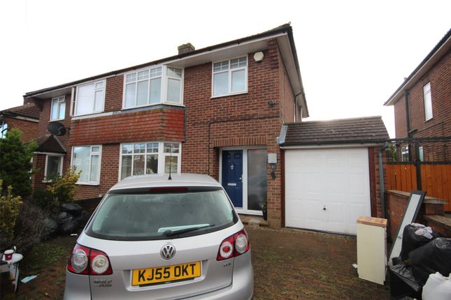 Thumbnail Semi-detached house to rent in Silecroft Road, Luton, Bedfordshire