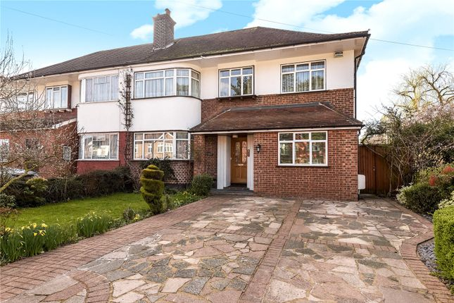 Thumbnail Semi-detached house for sale in Rayners Lane, Pinner, Middlesex