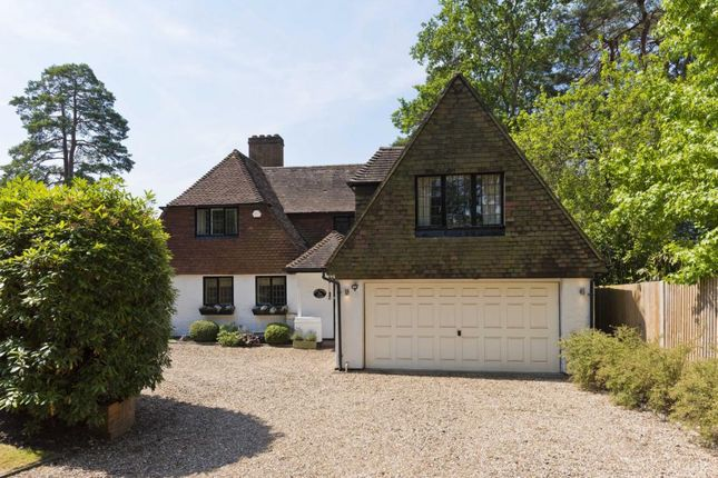 Thumbnail Detached house to rent in Golf Club Road, St George's Hill