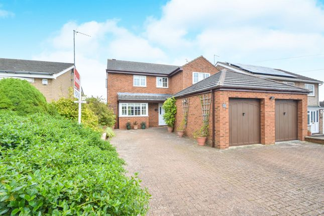Thumbnail Detached house for sale in Leys Avenue, Desborough, Kettering
