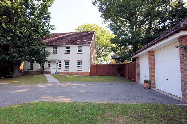 Thumbnail Detached house for sale in Fern Way, Titchfield Park, Fareham