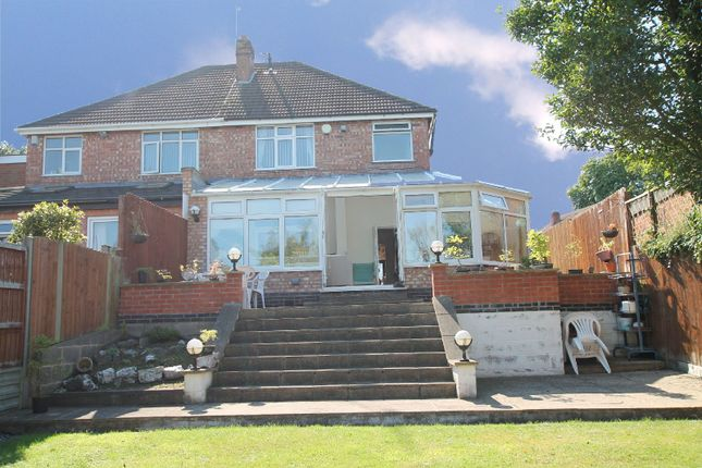 Thumbnail Semi-detached house for sale in Blankley Drive, Stoneygate, Leicester