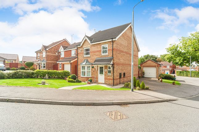 Thumbnail Detached house for sale in Western Gailes Way, Hull