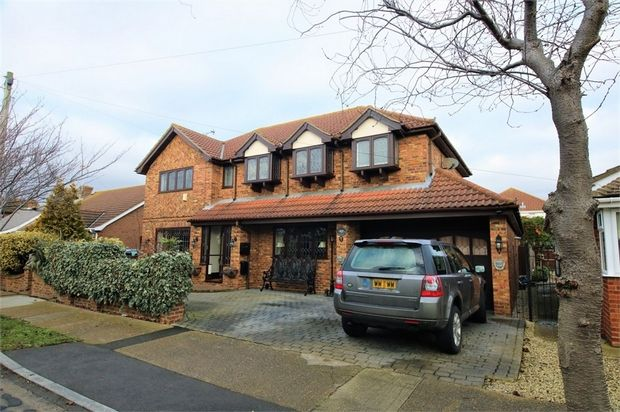 Thumbnail Detached house for sale in Grafton Road, Canvey Island, Essex