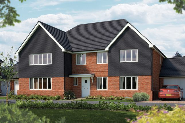 """Thumbnail Detached house for sale in """"The Exeter"""" at Iden Hurst, Hurstpierpoint, Hassocks"""