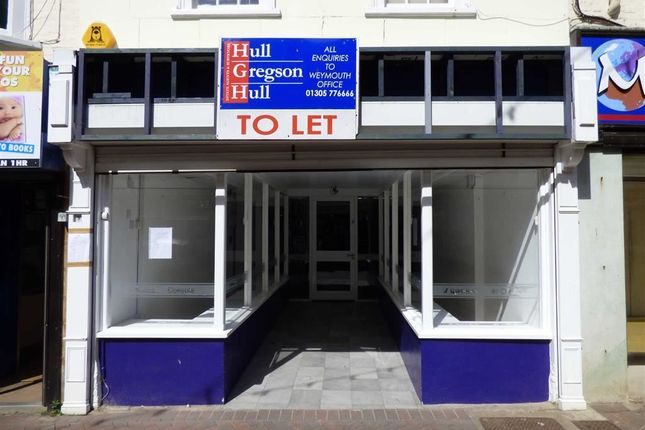 Thumbnail Retail premises for sale in St. Mary Street, Weymouth