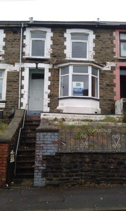 Thumbnail Terraced house to rent in Chepstow Road, Treorchy