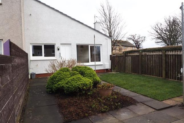 Thumbnail Terraced bungalow to rent in Monkmains Road, Haddington