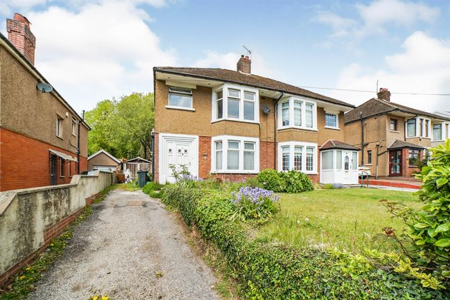 Thumbnail Semi-detached house for sale in Ty Glas Road, Llanishen, Cardiff