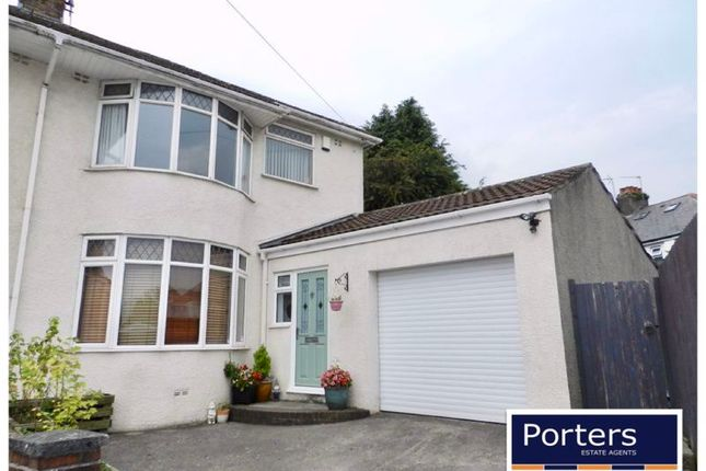 Thumbnail Semi-detached house for sale in Priory Gardens, Bridgend