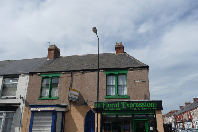 Thumbnail Flat to rent in 69A Murray Street, Hartlepool