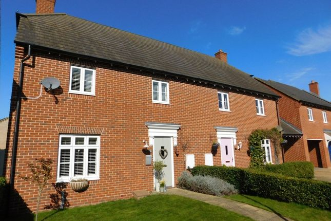 Thumbnail Semi-detached house for sale in Prince Edward Way, Stotfold, Herts