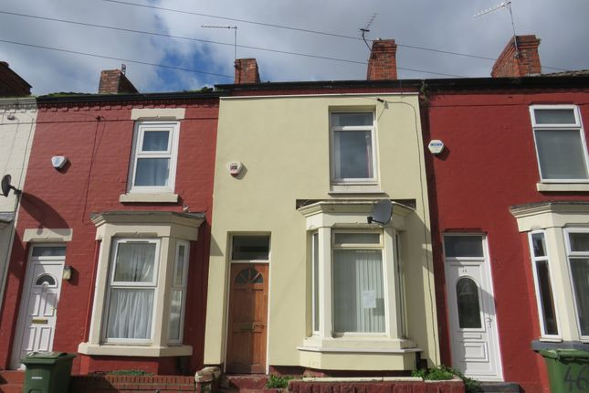 Thumbnail Terraced house for sale in Parkside Road, Tranmere, Birkenhead