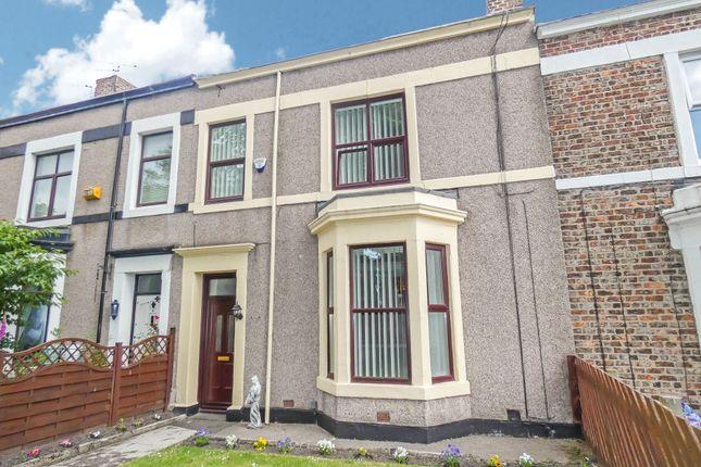 Thumbnail Terraced house for sale in Croft Terrace, Jarrow