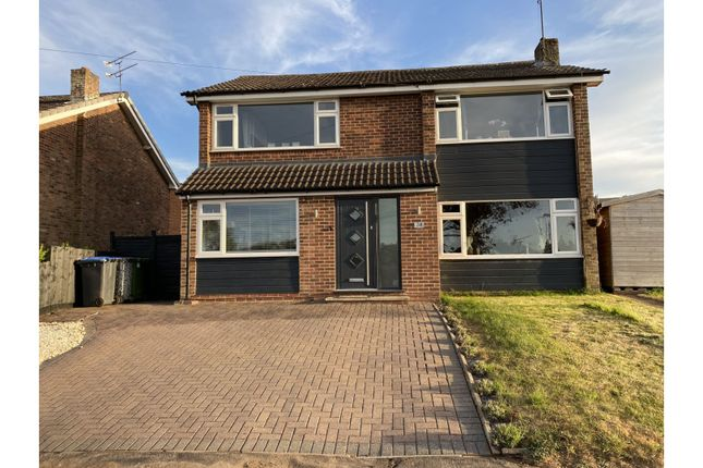 Thumbnail Detached house for sale in Constable Road, Rugby