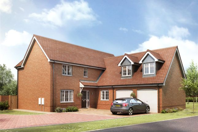 Thumbnail Detached house for sale in Round House Gate, Cringleford, Norwich, Norfolk