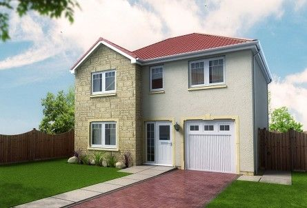 Thumbnail Detached house for sale in Plot 27, Laurel Bank, Station Road, Springfield, Fife