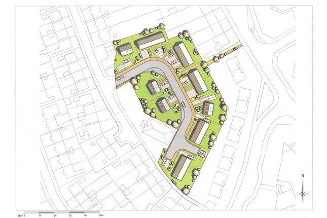 Thumbnail Land for sale in Dragonby Road, Scunthorpe