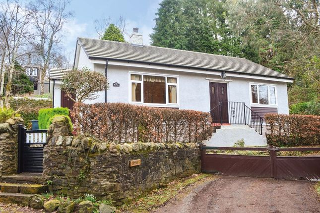 Thumbnail Detached bungalow for sale in Station Road, Shandon, Argyll